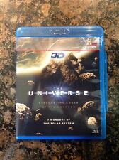 The Universe: 7 Wonders of the Solar System 3D(Blu-ray,2011,3D) Authentic US