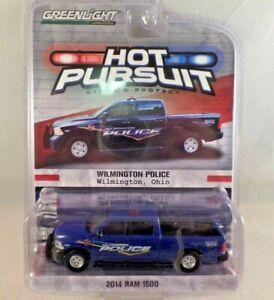 Greenlight Hot Pursuit 2014 Dodge Ram 1500 Wilmington, Ohio Series 15 NIP 1:64