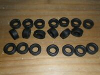 Scalextric 20 new grippy slick car tyres tires formula junior C72, C73, C86 etc