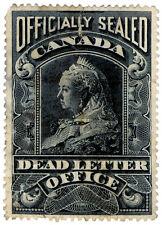 (I.B) Canada Postal : Dead Letter Office