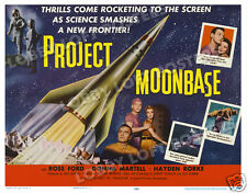 PROJECT MOONBASE LOBBY CARD POSTER HS 1953 DONNA MARTELL ROSS FORD HAYDEN RORKE