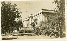 Canada Quebec City Ville Battlefield Park Museum 1948 real photo sepia postcard