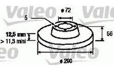 2x BÖLK Bremsscheiben vorne Belüftet 302mm Für CHRYSLER VOYAGER BOL-D011611