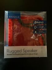 Insignia Rugged Portable Bluetooth Speaker NS-CSPBTF1-R