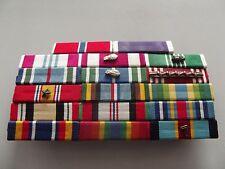 A33-8  Ordensspange Offizier/Feldwebel Army mit 17 Bandspangen Afghanistan Irak