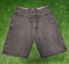 Vintage Marithe Francois Girbaud Jean Shorts Mens Size 40 Black Denim