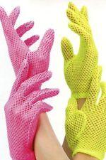 Leg Avenue Netz-Handschuhe in Pink