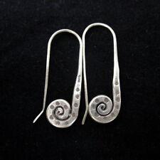 Thai Hill Tribe Earrings Fine Silver OHRHÄNGER Ohrringe الأقراط  ER128