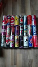 SET 9 Energy Drink Dosen Sammlung 24 Leere verschiedene Cans 250ml Empty Monster