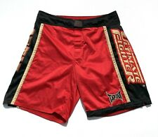 Tapout UFC The Ultimate Fighter Team Ortiz Red Black Gold Men MMA Shorts Men 34