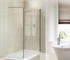 Glas Duschtrennwand Dusche WalkIn verstellbare Stange 50-150cm 8 oder 10mm