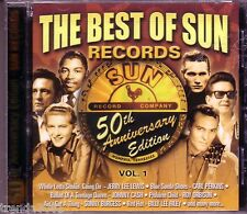 Best SUN RECORDS 50th Anniversary CD Classic 50s 60s Rock JOHNNY CASH CARL MANN