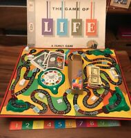 The Game of Life - Milton Bradley 1960 Board Game - Complete - Great condition