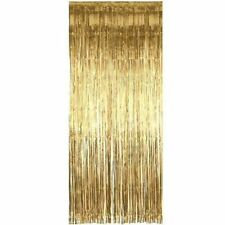 Amscan Gold Foil Door Curtin Stage Show 2.4m X 91cm Party Decoration