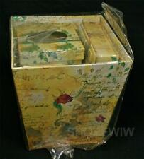 Yellow Floral French Theme Desk Set Gift Basket New