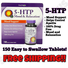 SALE! NEW Natrol 5-HTP Mood Enhancer & Appetite Suppresant,100mg - 150 Tablets!