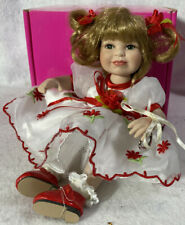 """Marie Osmond Tiny Tots MATERIAL GIRL Doll ~ 5.5"""" ORGANZA ~ Mint in Box"""