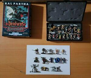 AD&D Dungeons & Dragons Miniatures Lot of 33 Hand Painted Denizens of Ravenloft