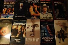 Lot of 10 ACTION / PHYCOLOGICAL THRILLER VHS Tapes - Clint Eastwood +++