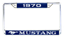 NEW! 1970 Ford Mustang License Plate Frame Chrome Price is Each