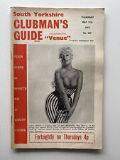 south yorkshire clubmans guide venue vintage may 17th 1973 magazine free post
