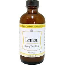 LorAnn Flavoring Oil LEMON BAKERY EMULSION FLAVOR 4 oz.