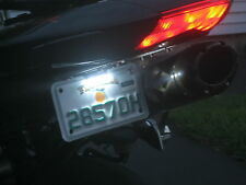 Motorcycle LED Lamp  License Plate Tail Light BRIGHT WHITE !! FREE SHIPPING ,