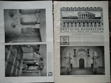 1906 Berlino Charlottenburg Nuovo Municipio Alpi FERROVIE FERROVIARIO Wochein