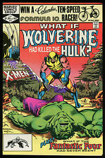 What if 31 Wolverine had killed the Hulk Comic w/ Fantastic Four Magneto X-Men