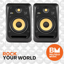 2 x KRK V6 S4 Studio Monitor V-Series Active Powered Speaker 6'' 6 Inch Pair