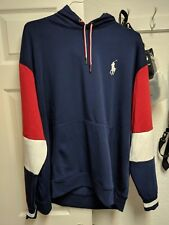 "Polo Ralph Lauren ""Polo 1967 Flag"" Big Pony Hoodie in Red, White & Blue"