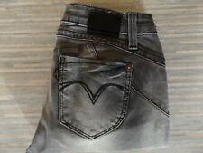 Ladies Levi Strauss & Co. Revel Demi Curve Skinny Mid Rise Grey Jeans W29 L32