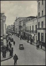 cartolina FOGGIA corso g.matteotti con i magazzini standa