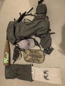 Kuiu Pro LT 5500 Frame & Bag, Bow Holder, Phelps, Go Hunt, Dry Bags, Hip Pockets