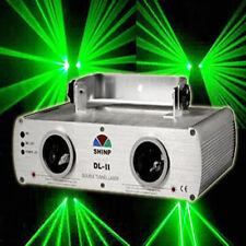 Shinp Double lens Green garden laser Stage Light DJ Lighting Disco KTV DMX bar