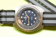 "Vintage Aquastar ""Seatime"" Diver Men's Wristwatch Ref.1000 Automatic 17Jewels"
