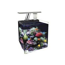 Nano Acuario Marino 24 Litros para Peces Tropicales, Agua Fría y Marinos