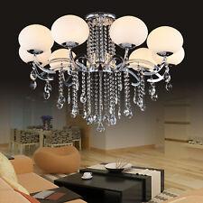 Deluxe European Stylish 9 Light Crystal Ceiling Lamp Pendant Light Chandelier