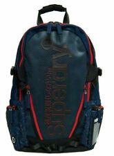 New Mens Superdry Diamond All Over Print premium Tarp Backpack Dark Navy bag