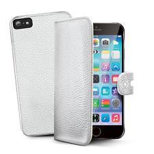 "Etui iphone 6 6s plus + cuir Haute qualité 5,5"" Marque Celly blanc"