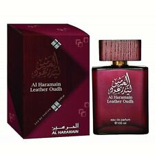 Leather Oudh Oud EDP Spray Unisex by Al Haramain - Floral, Woody, Leather, Musky
