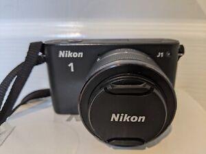 Nikon 1 J1 10.1MP Digital Camera - Black (Kit w/ 10-30mm lens)