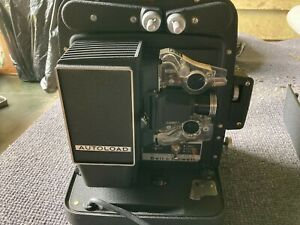 Bell And Howell Autoload 8mm Projector Model 256EX Made in USA Vintage Classic