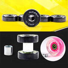 8pc Ceramics ABEC-11 Bearings Sleeves Washers Set Skateboard Longboard Low-noise