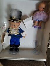 "effanbee Kewpie Dolls set SUGAR PLUM FAIRY & Nutcracker 8""/12"""