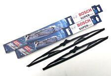 Bosch Front Wiper Blade Set - Window Windscreen Wiper Blades (SP18/18)a