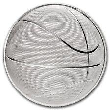 Medalla Plata Abombada 999/1000 1 Onza Baloncesto - 1 Oz silver