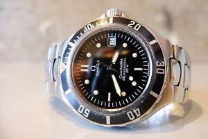 1990's Vintage OMEGA SEAMASTER PROFESSIONAL 200M Pre-Bond Mens Watch QUARTZ #15