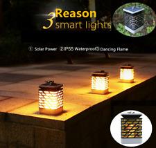 Solar Flame Lawn Lamp LED Fire Light Realistic Waterproof Lamp Outdoor Garden