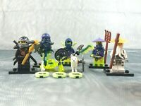 Lego Ninjago 70734 Minifigure Bundle Cole/ Sensei Wu/ Ghost Warrior/ Ninja